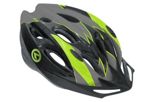 KASK NA ROWER KELLY'S BLAZE BLACK-GREEN M/L