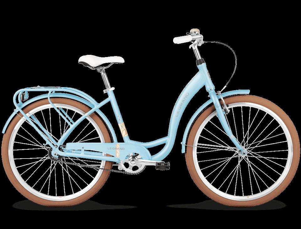 Rower Miejski Le Grand Lille 1 26 Błękitny 17 Aluminiowy Euro Rower